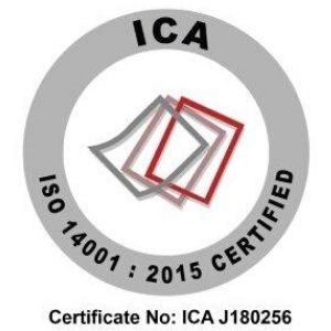 Certification to ISO 14001:2015