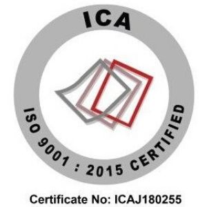 Certification to ISO 9001:2015